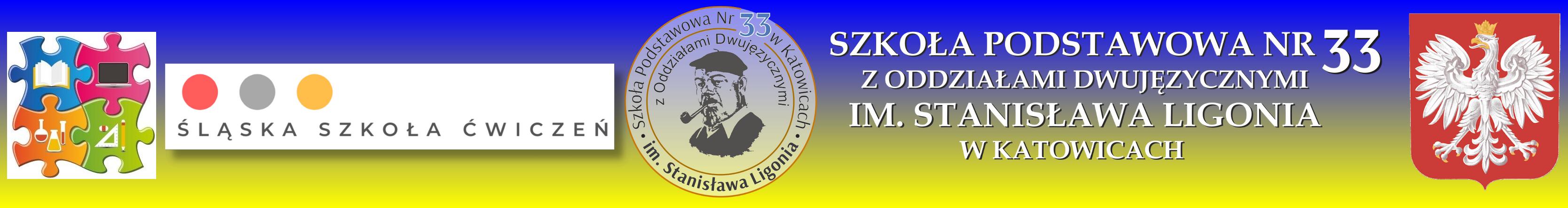 Szkoła Podstawowa nr 33 z Oddziałami Dwujęzycznymi w Katowicach im. Stanisława Ligonia